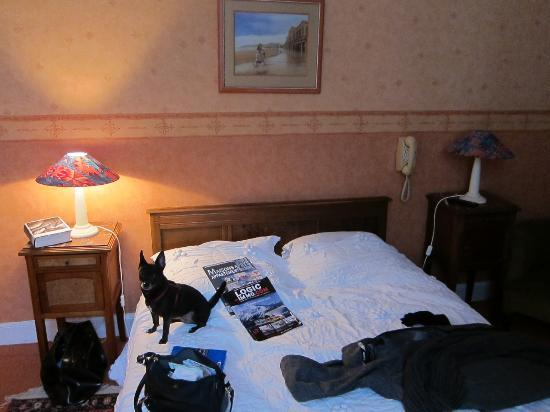 Hotel Saint Charles: Our comfortable double room with dated decor.