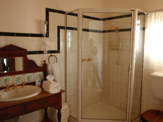 Mole Creek Guesthouse: bathroom