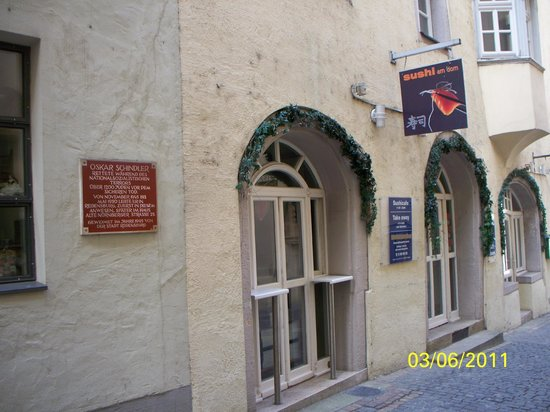 Regensburg, Germany: The Oskar Schindler House