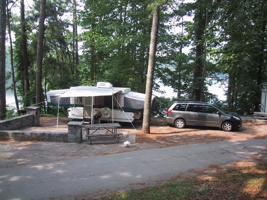 Stone Mountain Family Campground: On The Lake