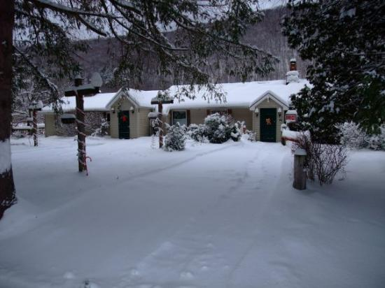 Cold Spring Lodge in Winter
