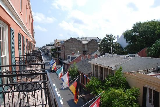 Dauphine Orleans Hotel View From The Balcony