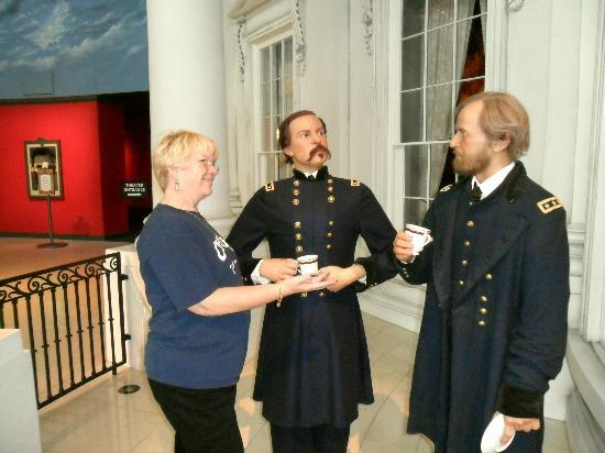 Abraham Lincoln Presidential Library and Museum: But, General Grant, as I was saying...