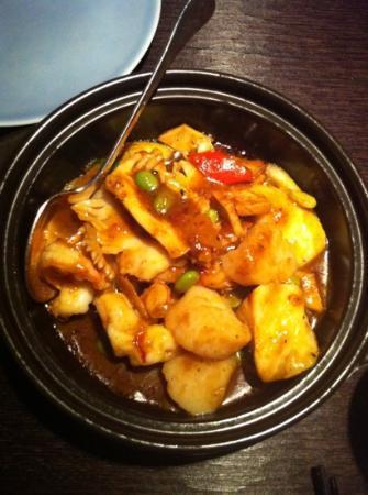 Hakkasan: sha cha sea food toban