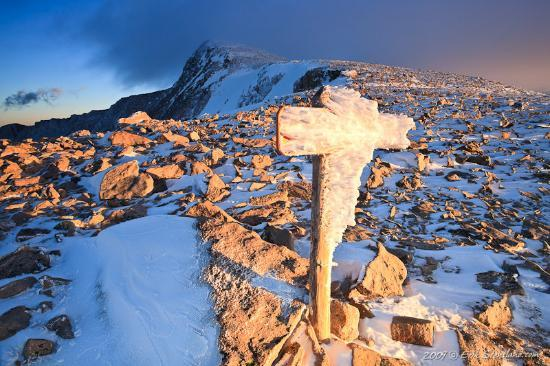 Images of Rocky Mountain National Park: Halletts' Cross