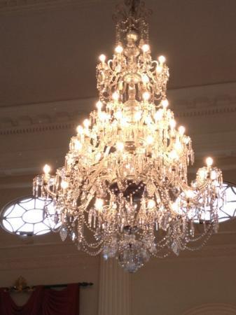 chandelier - Picture of The Roman Baths, Bath - TripAdvisor