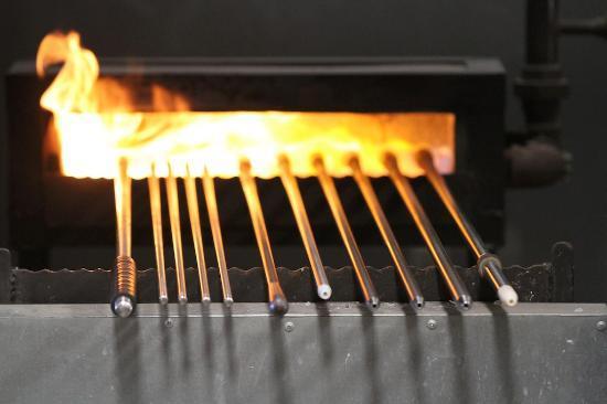 Orbix Hot Glass: Blowing rods