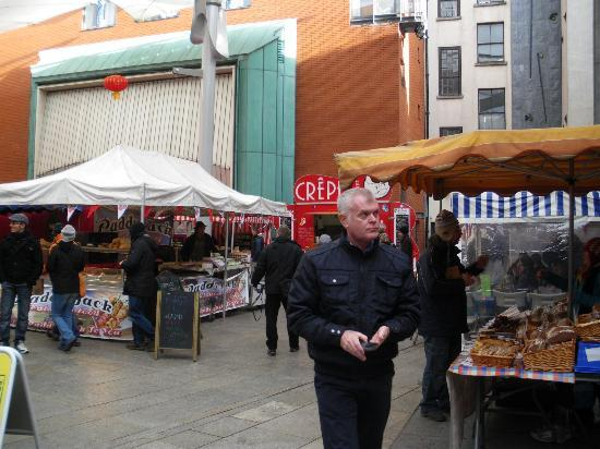 Temple Bar Food Market: Meeting House Square