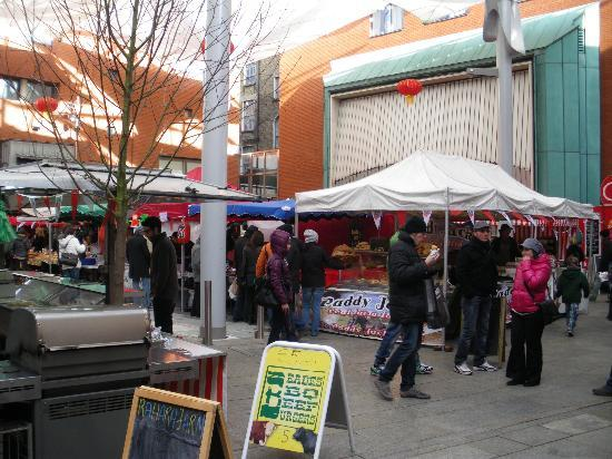 Meeting House Square: Food Market