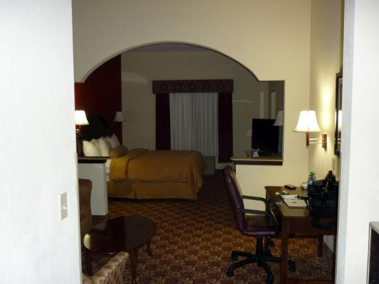Comfort Suites Milledgeville : Room View 1