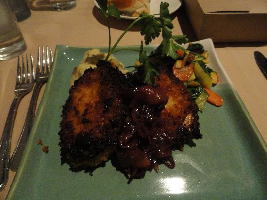 Iris Food and Spirits: perfect spicy crispy pork loin