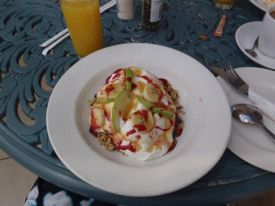 Boulders Beach Lodge: Breakfast