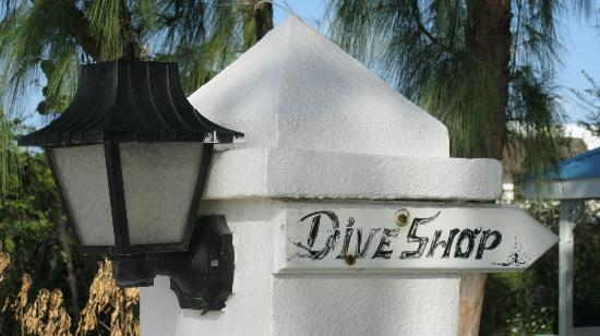 Entrance to Oasis Divers
