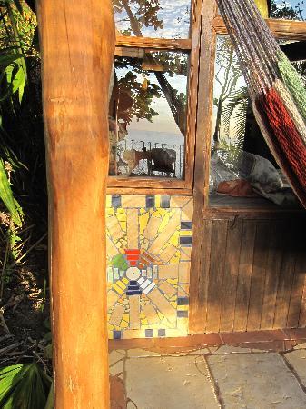 Montezuma Heights: Beautiful tile detail.