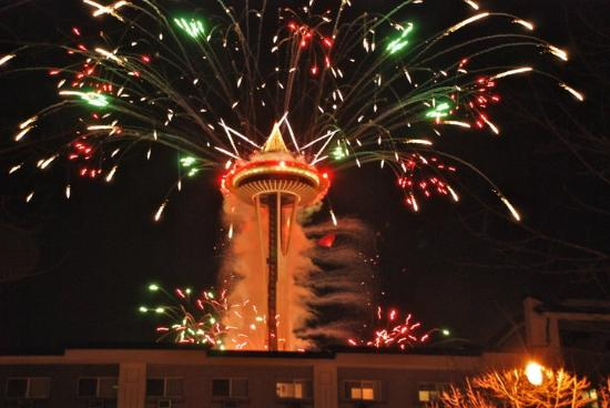 Crowne Plaza Seattle Downtown Area: New Years at the Space Needle!!