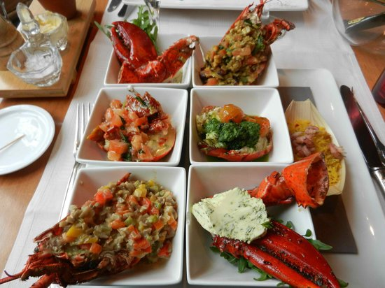 The House of Eliott: Lobster in 6 ways