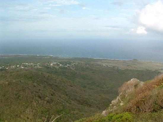 Nelson's Lookout: Views from the summit, Saddle Hill, Nevis, West Indies