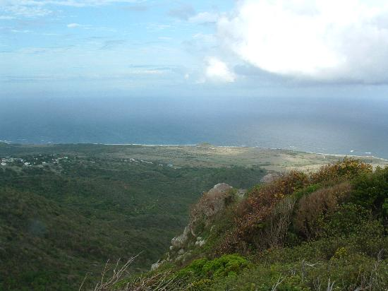 Nelson's Lookout: Panormanic views from the summit, Saddle Hill, Nevis, West Indies