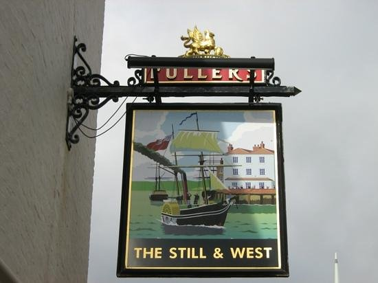 The Still & West: signpost