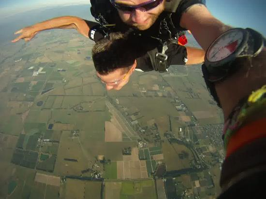 Skydive Yarra Valley: Look at the view