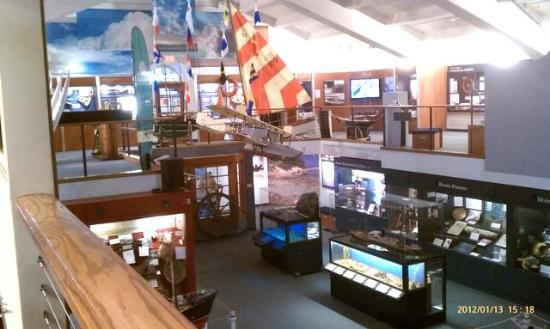 Santa Barbara Maritime Museum : View of the SB Maritime Museum from the 2nd floor.