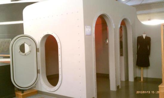 Santa Barbara Maritime Museum: Periscope Room