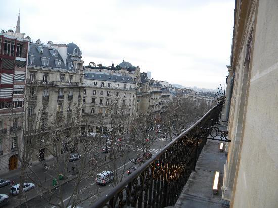 Hotel Marceau Champs Elysees: vista desde la habitacion