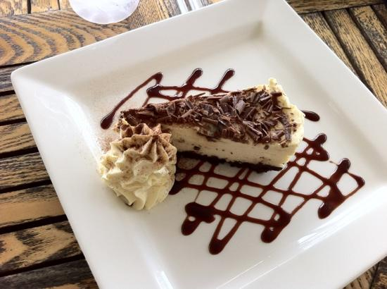 Amaze 'n' Place: honeycomb cheesecake