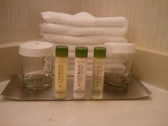 Doubletree Hotel Chicago Oak Brook: Crabtree & Evelyn bathroom amenities