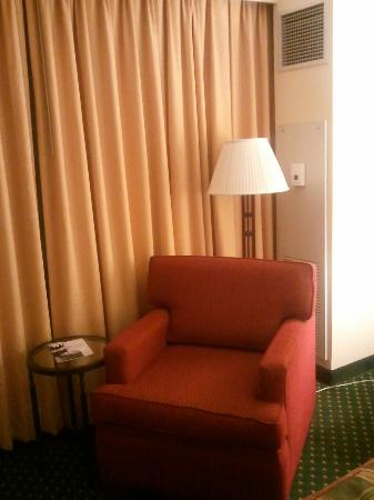 Doubletree Hotel Chicago Oak Brook: Room chair