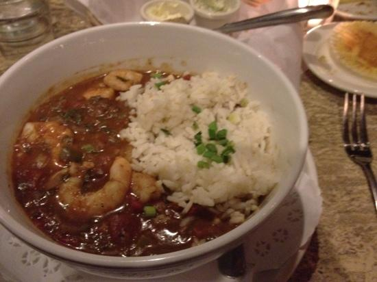 Maple Tree Inn : shrimp creole