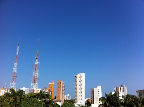 céu azul de Fortaleza