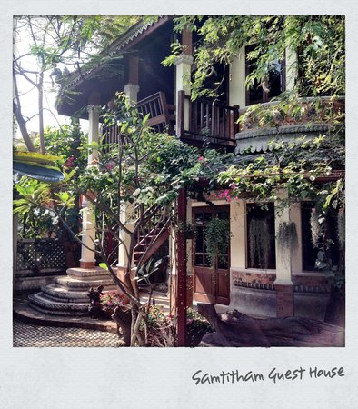 Santitham Guest House: Enter a magical garden property!