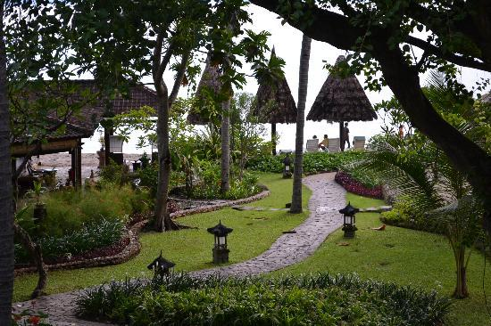Sheraton Senggigi Beach Resort: From our 2nd storey balcony