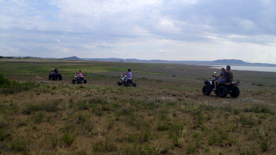 Gariep, South Africa: Quad Trails in the Oviston Nature Reserve Photo by Siloam Village