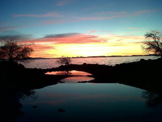 Sunset Oviston Gariep photo by Siloam Village