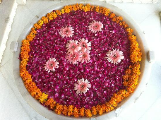 Taj Lake Palace Udaipur: Another Flowers Set