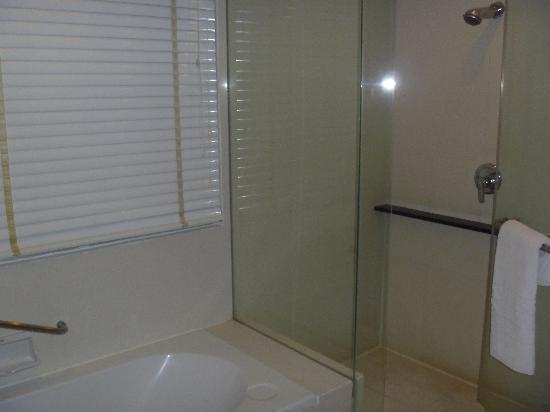 Bathroom 2 - separate shower & bathtub area