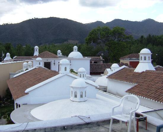 La Villa Serena: View the quaint old city from the rooftop deck.