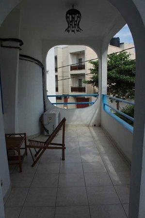 Hotel Equateur : Balcony
