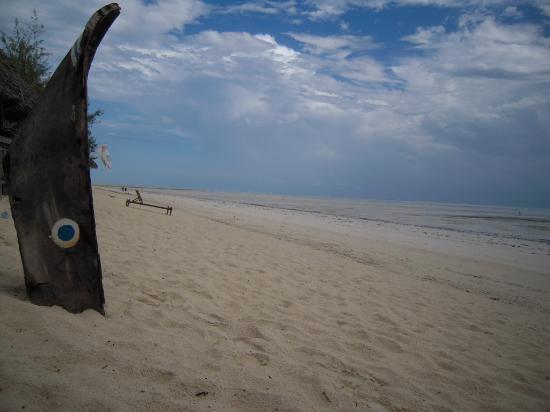 Dhow Inn: la plage