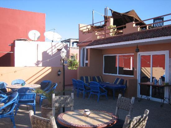 Villa Solaria: les terrasses