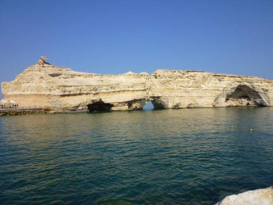 Barr Al Jissah, Oman : Al Husn,views from beach 5