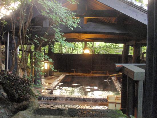 Yama no Yado Sinmeikan: 宿泊客専用の露天風呂です