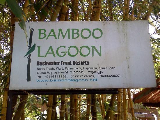 Bamboo Lagoon Backwater Front Resort: Board