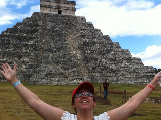 بلايا ديل كارمن, المكسيك: de visita al imponente Chichen Itza