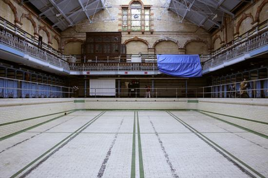 Victoria Baths: 1st class mens pool