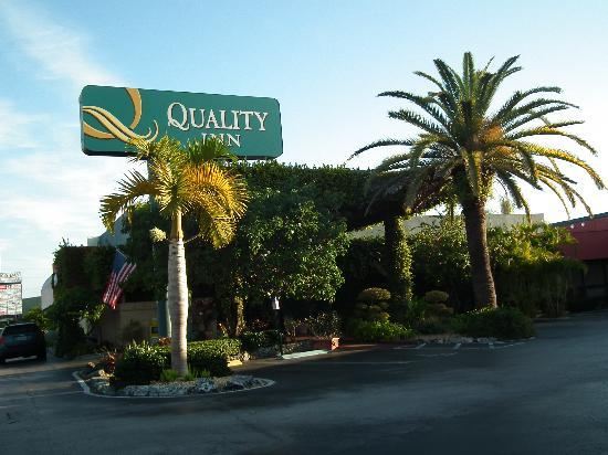 Quality Inn South at the Falls: entrée