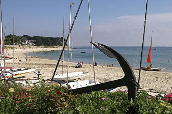 Logis de Bretagne : plage du port d'orande