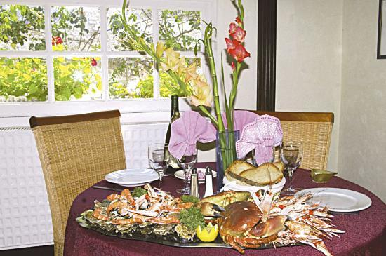 Logis de Bretagne : pateau de fruits de mer
